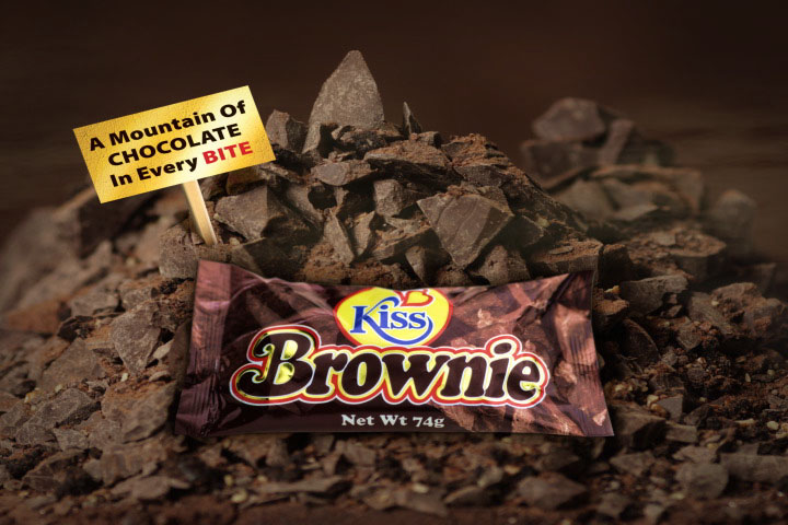 Kiss Brownie