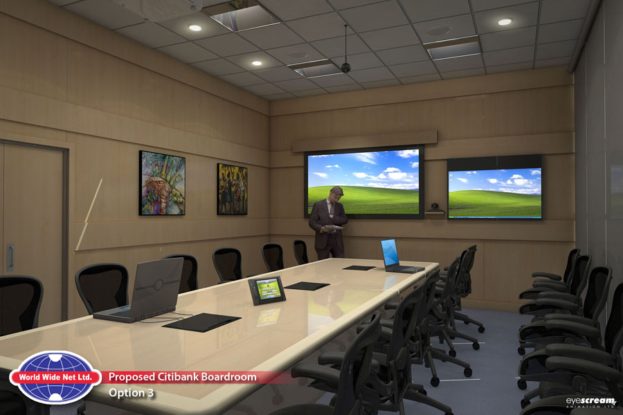 What Is Wide Eye In Conference Room